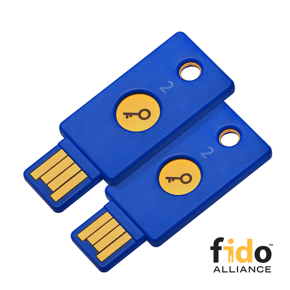 Security Key by Yubico - 2 Pack
