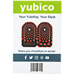YubiStyle Cover - Polka Red - C