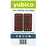 YubiStyle Cover - Polka Red - Ci