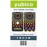 YubiStyle Cover - Double Rainbow - A / C NFC