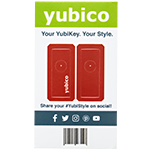 YubiStyle Cover - Red - Ci