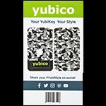 YubiStyle Cover - Urban Camo - A / C NFC